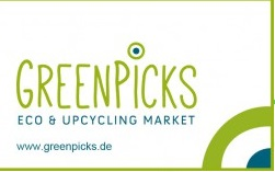 greenpicks eco upcycling market  partner planetbox  du entscheidest