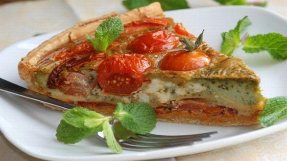 vegan kochen tomaten-quiche | planetbox