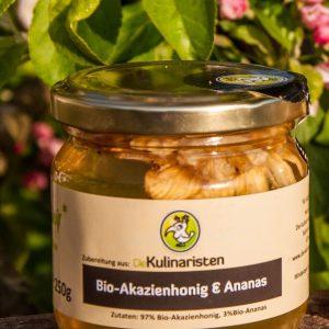 Bio-Akazienhonig mit Ananas shop  planetbox  bio  planetbox du entscheidest de   bio honig  essen trinken