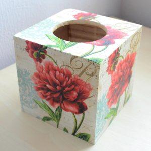 Kosmetiktuchbox RoseGarden  planetbox  du entscheidest de  shop    bio nachhaltig
