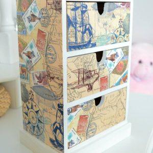 Schränkchen AroundTheWorld by MakeMeFancywork.de planetbox  du entscheidest  de  shop  news  nachhaltigkeit  möbel  design