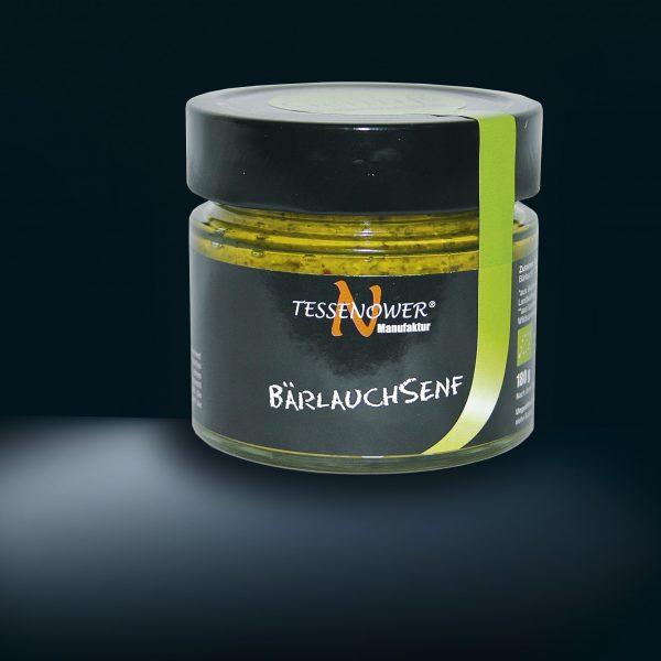 Bärlauchsenf Tessenower Bärlauch Senf  180g by die-genusswelt com  shop planetbox  du entscheidest  de  bio vegan