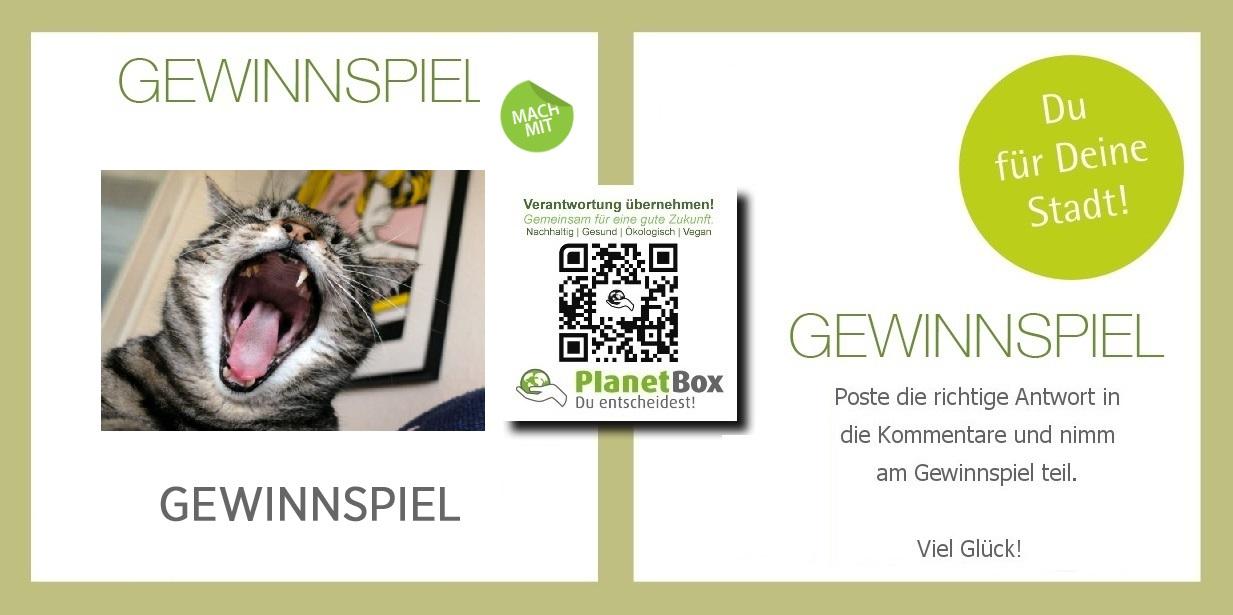 Gewinnspiel Planetbox  du entscheidest de  bio vegan  katze  cat   tips tricks  bio   nachhaltig    facebook  twitter   google plus  news   map  planetbox  deutschland  österreich  schweiz