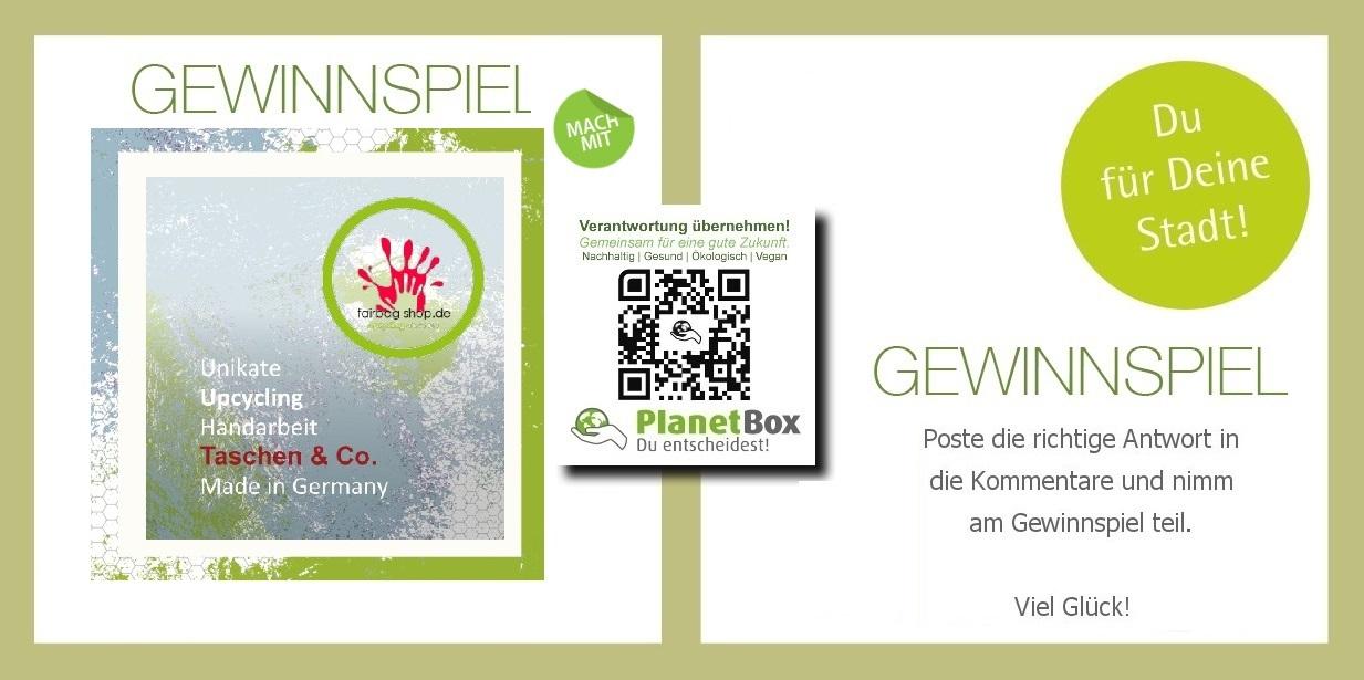 Fairbag-shop.de-gewinnspiel-weihnachten-upcycling-schlüsselanhänger-vegibo-com fair trade bio  vegan planetbox-duentscheidest