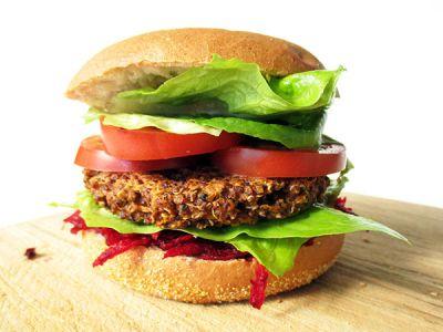 quinoa burger  planetbox  du entscheidest de  map  essen trinken  rezept vegan