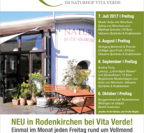 KulturVoll Im Naturhof Vita Verde am  Freitag 8. September 2017 und Freitag 6. Oktober 2017_planetbox-duentscheidest.de News_event_bio_vegan