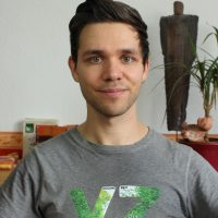 Veganer-Gesundheits-Blogger