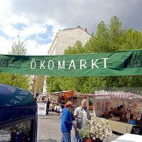 Ökomarkt am Kollwitzplatz