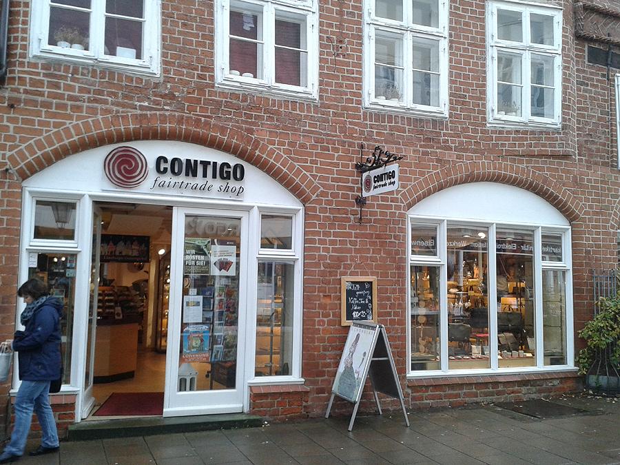Contigo Fairtrade Shop Lüneburg Kaffeebar Kaffee Bio Rösterei