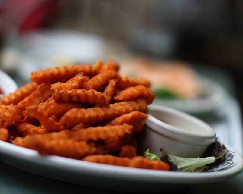 Vegan Chicoree Auflauf Mit Pommes Frites Aus Süßkartoffeln Planetbox